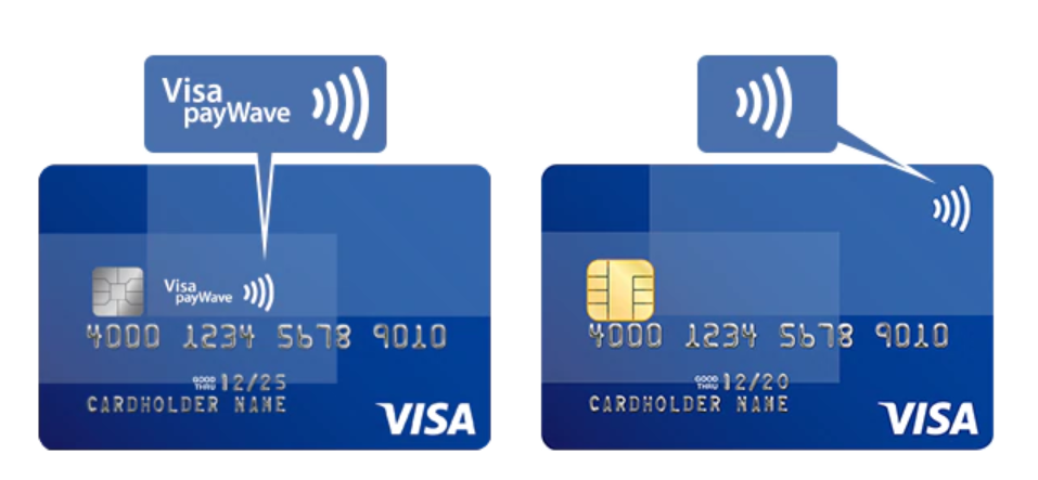 VISA Touchカード