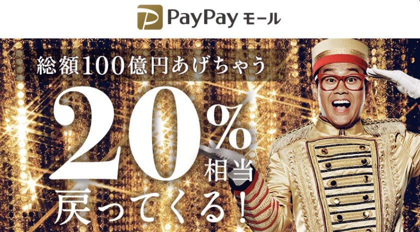 PayPayモール_100億円あげちゃうキャンペーン