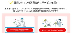 経産省のキャッシュレス・ポイント還元事業_クレカ