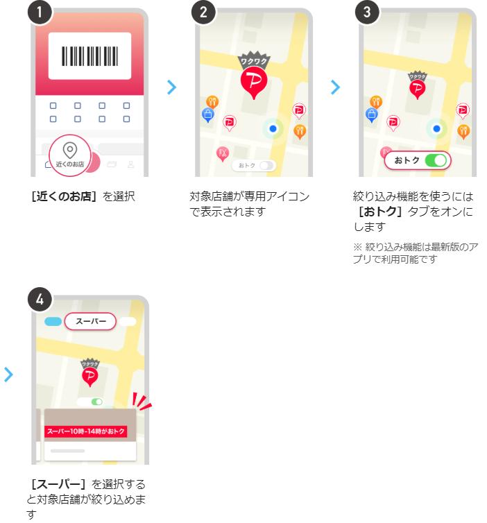 PayPay_春の大還元祭_マップ