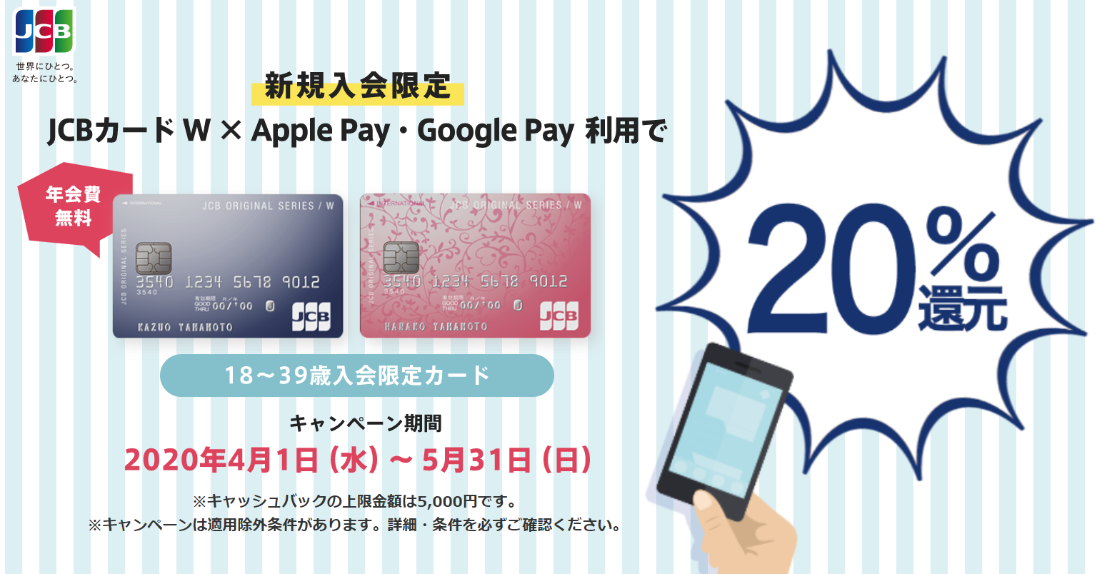 PayPay_20%還元キャンペーン_JCB