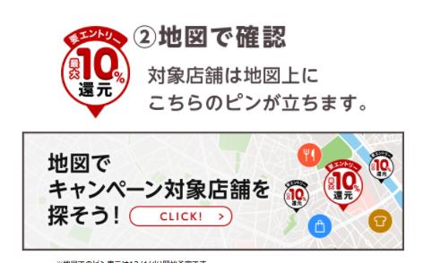 楽天ペイ_10%還元キャンペーン_加盟店2