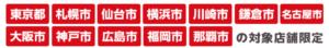 楽天ペイ_10%還元キャンペーン_対象地域