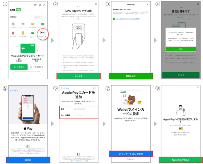 LINEPay_ApplePay_連携方法