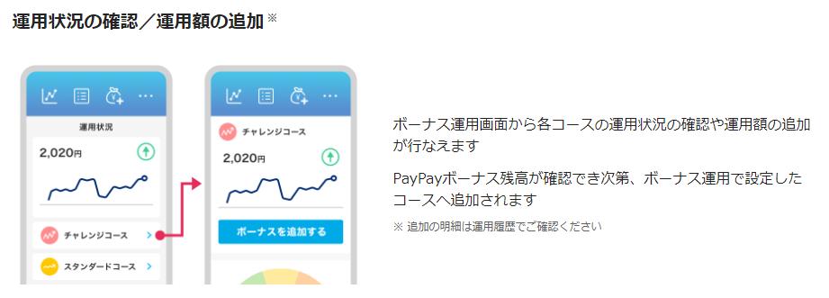 PayPayボーナス運用_運用状況の確認