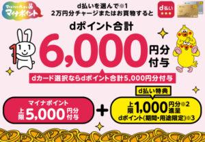 マイナポイント_d払い