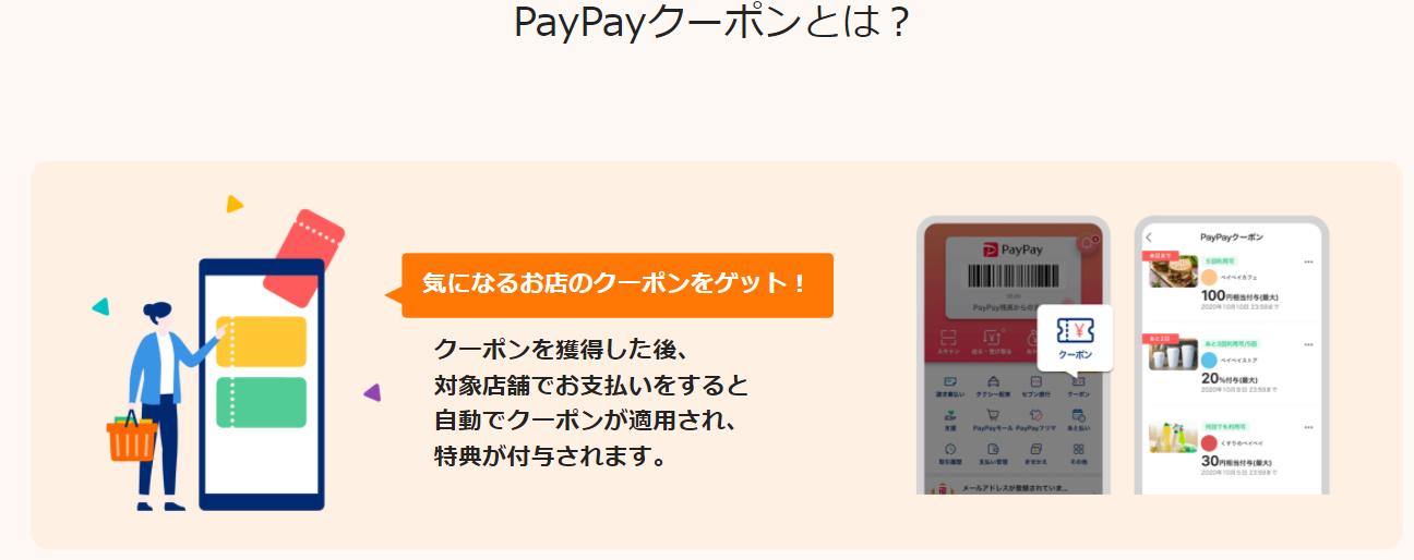 PayPayクーポンとは